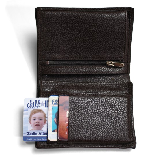 Child ID wallet card