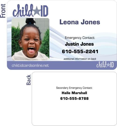Classic, detaild Child ID